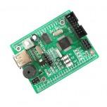 برد آموزشی MSP430F149 با رابط USB