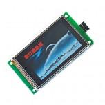 ماژول نمایشگر LCD TFT فول کالر 2.8 اینچ دارای ارتباط سریال ( Usart GPU )