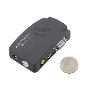 دستگاه تبدیل  AV / S-video / VGA به VGA
