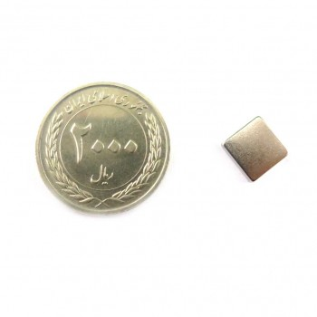 آهن ربای نئودمیوم فوق قوی 10mm X 10mm مربعی