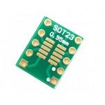 برد دو لایه تبدیل SMD به DIP ویژه آی سی های SOT23/MSOP-10