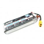 باتری لیتیوم پلیمر 3 سل LIPO 11.1V 4200mAh 35C HRB-XF