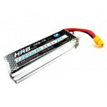 باتری لیتیوم پلیمر 3 سل LIPO 11.1V 2200mAh 25C HRB-YS