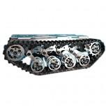 شاسی تمام فلزی تانک به همراه شنی و موتور مناسب برای ساخت ربات مسر یاب