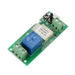 ماژول رله 1 کاناله با قابلیت کنترل وایفای و تغذیه میکرو USB مناسب برای ساخت درب هوشمند