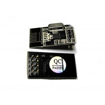 ماژول انتقال بیسیم اطلاعات +NRF24L01  ( فرکانس 2.4G  ) + آنتن
