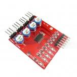 ماژول حسگر مادون قرمز ربات های تعقیب خط ( 4 کاناله )