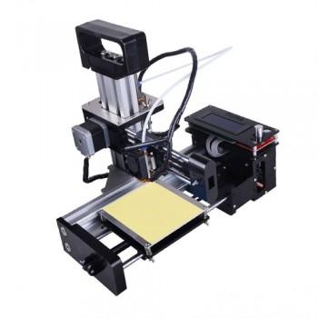 کیت مینی پرینتر سه بعدی رومیزی دارای تکنولوژی FDM و دقت 0.1mm