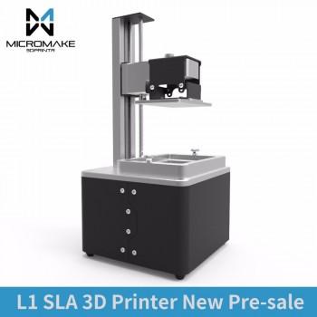 پرینتر سه بعدی SLA رزین Micromake L1 با دقت 20 میکرون