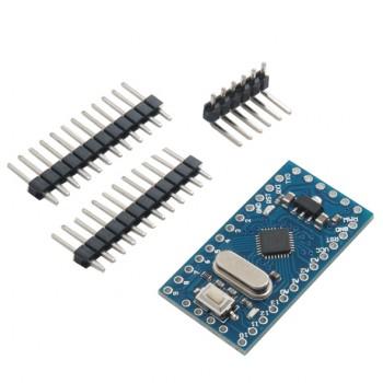برد آردوینو Pro Mini دارای پردازنده مرکزی ATMEGA168 و ولتاژ کاری 3.3V