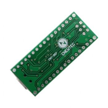 برد آردوینو NANO دارای پردازنده مرکزی ATmega328P و چیپ مبدل CH340E