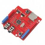 شیلد پخش فایل های صوتی VS1053 دارای تقویت کننده داخلی و امکان ضبط صدا