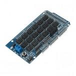 شیلد سنسور آردوینو مگا دارای قابلیت اتصال کنترلر سروو / بلوتوث / SD card / APC220 / آلتراسونیک / I2C / 12864 LCD