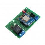 ماژول کنترلر محیط مبتنی بر IOT  و وای فای 2.4 گیگاهرتزی با رله تک کاناله نصبی روی برد