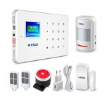 سیستم دزدگیر هوشمند سیم کارتی KERUI-G18 با قابلیت کنترل از طریق موبایل