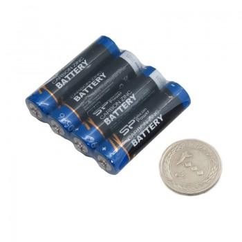 بسته 4 تایی باتری قلمی سیلیکون پاور مدل Carbon Zinc