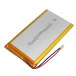 باتری لیتیومی 3.7V 10000mAh دارای برد محافظ