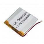 باتری لیتیومی 3.7V 2500mAh