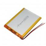 باتری لیتیومی 3.7V 2500mAH دارای برد محافظ