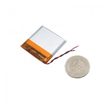 باتری لیتیومی 3.7V 500 mAh دارای برد محافظ