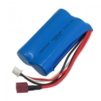 پک دو تایی باتری لیتیومی دو سل 1500mAh سایز 18650