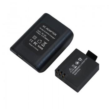باتری لیتیوم یون 3.7V 900MAH ویژه دوربین SJ7000 به همراه شارژر