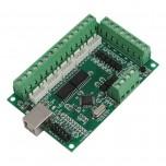 کارت کنترلر دستگاه CNC پنج محور با پشتیبانی از نرم افزار USB MACH3 و پالس خروجی 100KHz