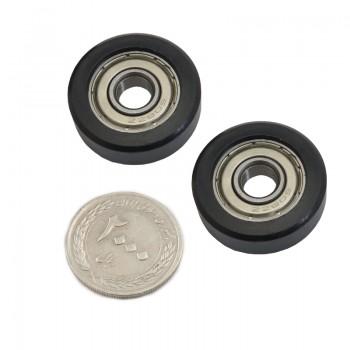 بسته 2 تایی چرخ هرزگرد 608 مناسب برای مصارف فنی و رباتیک