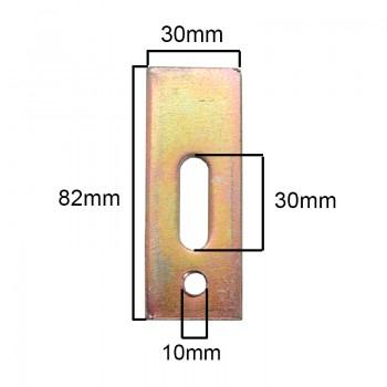 نگه دارنده ( Fixture ) قطعات ویژه دستگاه های CNC دارای طول 8 سانتی متر