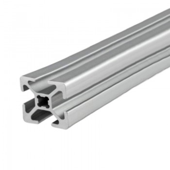 پروفیل آلومینیومی شیاردار مهندسی 30X30 به طول 100 سانتی متر
