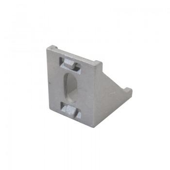 اتصال گونیا 90 درجه 30x30 مناسب برای پروفیل های مهندسی