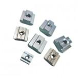 بسته 5 تایی مهره تی مربعی مناسب برای اتصال پروفیل های آلومینیومی مهندسی مدل M4-20