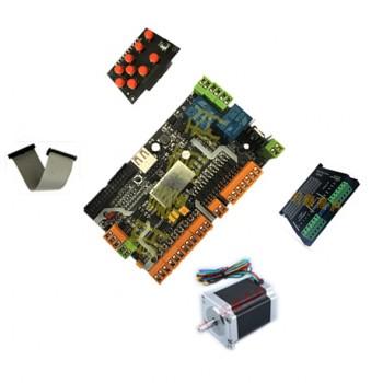 ست کامل موتور و درایور دستگاه CNC با قابلیت پشتیبانی از نرم افزار USBCNC