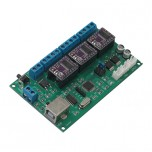 کارت کنترلر دستگاه CNC سه محور با پشتیبانی از نرم افزار GRBL و درایور موتور DRV8825