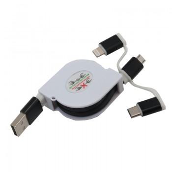 کابل انتقال دیتا و شارژر اندروید /  Iphone/ Type C