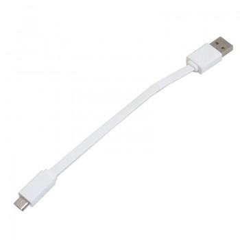 کابل انتقال دیتا و شارژر 16 سانتی متری میکرو USB