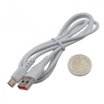 کابل انتقال دیتا و شارژر 100 سانتی متری میکرو USB