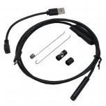 دوربین ( آندوسکوپ ) 1 مگاپیکسل دارای ارتباط USB سازگار با ویندوز / اندروید