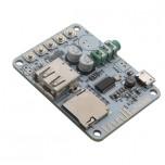ماژول پخش فایل های صوتی دارای ورودی های بلوتوث / USB / TF CARD به همراه کلید های کنترلی