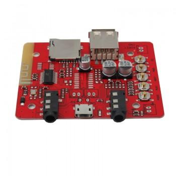 ماژول پخش کننده فایل های صوتی بلوتوث دارای جک میکروفون و اسپیکر