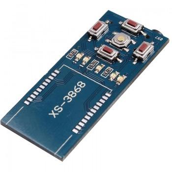 برد آداپتور بلوتوث صوتی XS3868 دارای خروجی جک استریو 3.5 میلیمتری