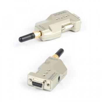 ست ترنسیور وایرلس HPS-120 دارای ارتباط سریال RS232 و برد 1.2 کیلومتر