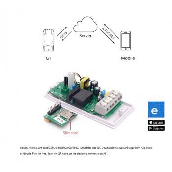 سوئیچ GPRS / GSM چهار باند G1 سازگار با اندروید / IOS