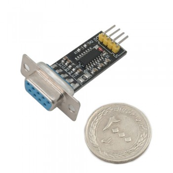 ماژول مبدل RS232 به TTL دارای چیپ MAX3232 و سوکت مادگی