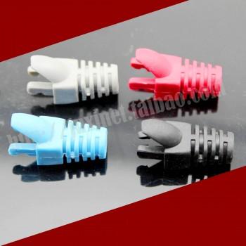 کاور پلاستیکی سوکت های RJ45 سازگار با استانداردهای CAT6  / CAT5E