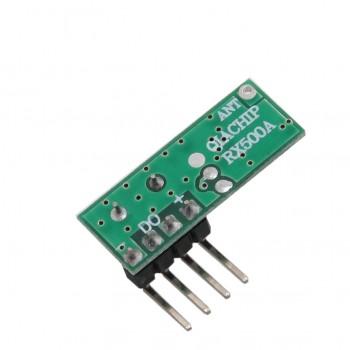 ماژول گیرنده وایرلس RX500A دارای فرکانس 433Mhz