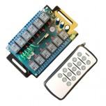 گیرنده 12 کانال کد فیکس 315  پلکسی به همراه ریموت