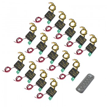 کیت کامل ریموت و گیرنده 28 کاناله دارای فرکانس 315MHz / 433MHz