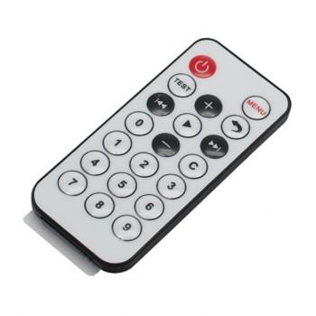 ریموت کنترل مادون قرمز 21 کلیدی با برد 8 متر-فرکانس 38kHz