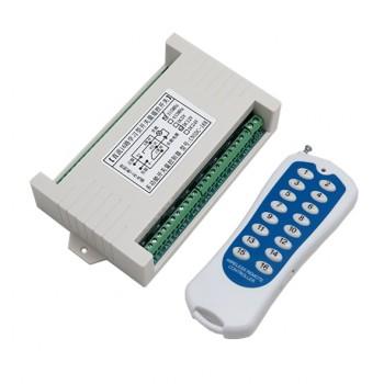 کیت ریموت کنترل 16 کاناله 12 ولتی دارای فرکانس 433MHz